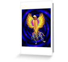 The Golden Bird Greeting Card