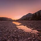 Isar Riverbed by Constantin Fellermann