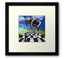 the pianist 2 Framed Print