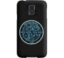 timey-wimey Samsung Galaxy Case/Skin