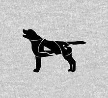 Labrador Golden Retriever Silhuette Unisex T-Shirt
