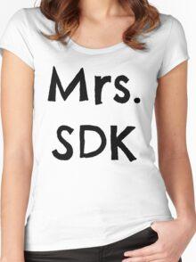 Mrs. SDK Women's Fitted Scoop T-Shirt