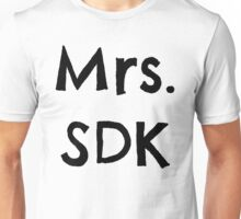 Mrs. SDK Unisex T-Shirt