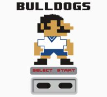 Rugby League - Bulldogs 8-bit by markp1979