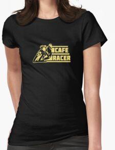 cafe racer vintage biker Womens Fitted T-Shirt