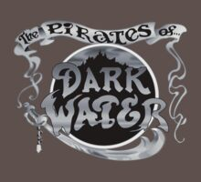 Pirates of Dark Water - greyscale logo by Smitha Prasadh