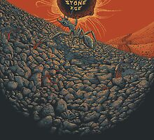 Queens of the stone age poster by Tiarnanmcmullan