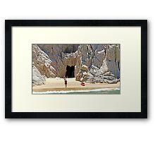 Cabo Cave Framed Print