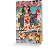 Goregrind Chicks Greeting Card