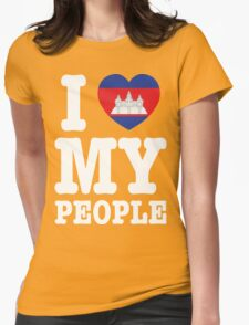 I Heart (Love) My Khmer People T-Shirt