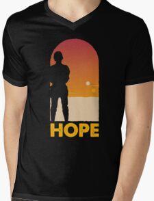 Hope - Tatooine's New Hope! Mens V-Neck T-Shirt