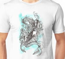 Mermaid and Koi Unisex T-Shirt