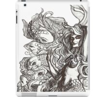 Mermaid and Koi iPad Case/Skin