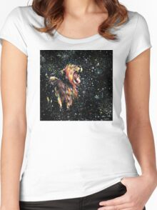 the lion sleeps no more Women's Fitted Scoop T-Shirt