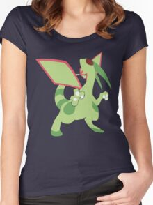 Flygon Minimalist Women's Fitted Scoop T-Shirt