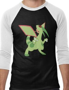 Flygon Minimalist Men's Baseball ¾ T-Shirt