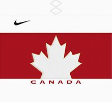 Team Canada Away Jersey Phone Case by Russ Jericho
