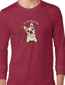 Fawn French Bulldog IAAM Long Sleeve T-Shirt