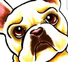 Fawn French Bulldog IAAM Sticker