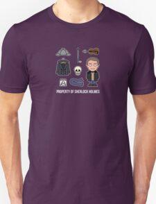 Property of Sherlock Holmes (shirt) Unisex T-Shirt