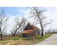 SOUTHERN INDIANA BARN Photographic Print