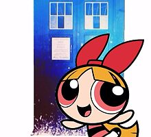 Blossom in the TARDIS by MeridaOswald