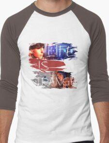 Strange-3 Men's Baseball ¾ T-Shirt