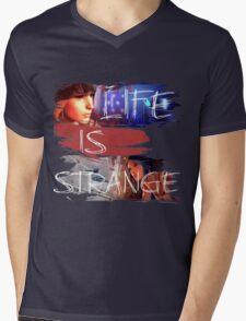 Strange-3 Mens V-Neck T-Shirt