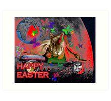 Happy Easter. Art Print
