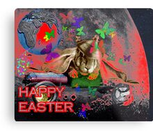 Happy Easter. Metal Print
