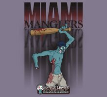 The Miami Manglers - Zombie League Baseball by johnmarinville