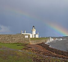 Chanonry Lighthouse by Sandy Sutherland