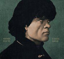 Tyrion Lannister portrait. by yurishwedoff
