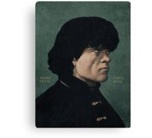 Tyrion Lannister portrait. Canvas Print