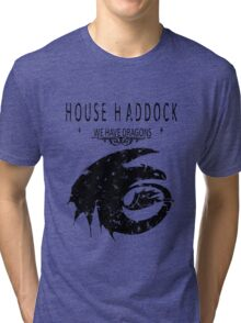 "HTTYD ""House Haddock"" Graphic Tee Tri-blend T-Shirt"