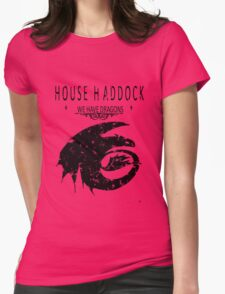 """HTTYD """"House Haddock"""" Graphic Tee Womens Fitted T-Shirt"""