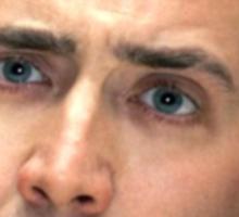 Nicolas Cage Sticker