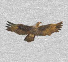 Eagle Spread Wings Golden Bald Eagle One Piece - Long Sleeve