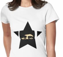 Zapata star  Womens Fitted T-Shirt