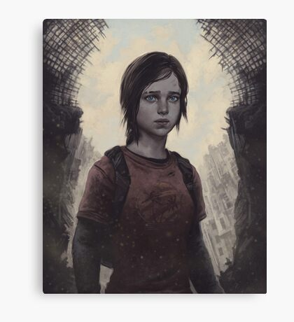 The Last Of Us Ellie Canvas Print