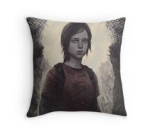 The Last Of Us Ellie Throw Pillow