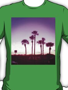 Trippy Orlando Beach Sunset T-Shirt