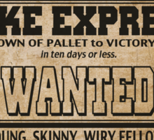 Poke Express - Trainers Wanted Sticker