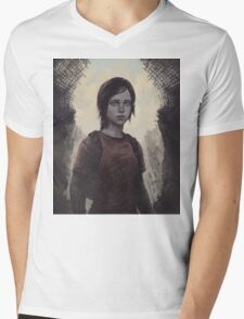 The Last Of Us Ellie Mens V-Neck T-Shirt