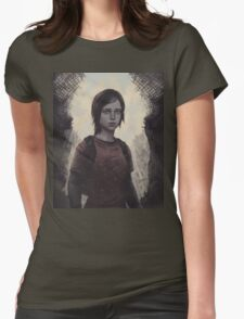 The Last Of Us Ellie Womens Fitted T-Shirt