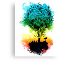 magical tree Canvas Print