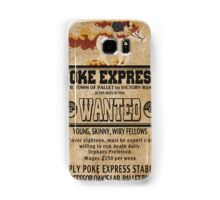 Poke Express - Trainers Wanted Samsung Galaxy Case/Skin