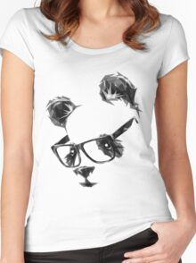 Cool Panda Women's Fitted Scoop T-Shirt