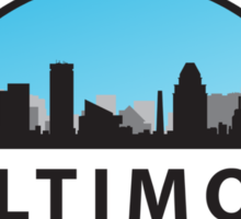 Baltimore Maryland Freaking Awesome Since 1796 Sticker
