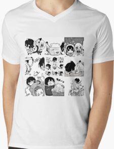 nukoduke Mens V-Neck T-Shirt
